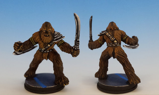 Wookie Warrior, Imperial Assault FFG (sculpted by Benjamin Maillet, 2015)