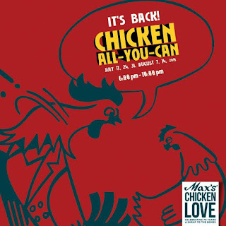 #ChickenLove!, Max's, Max's Chicken All you can