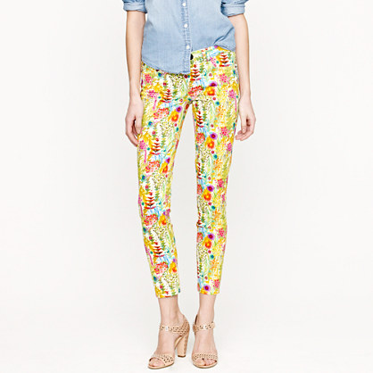 Liberty Toothpick Jean in Tresco Floral