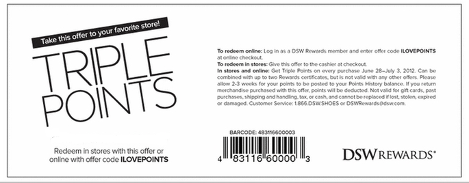 Dsw shoes coupon code