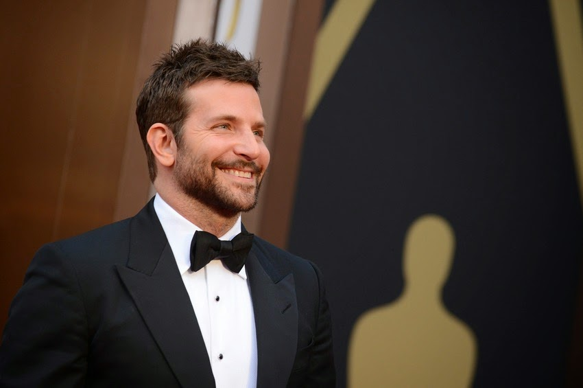 Bradley Cooper in black