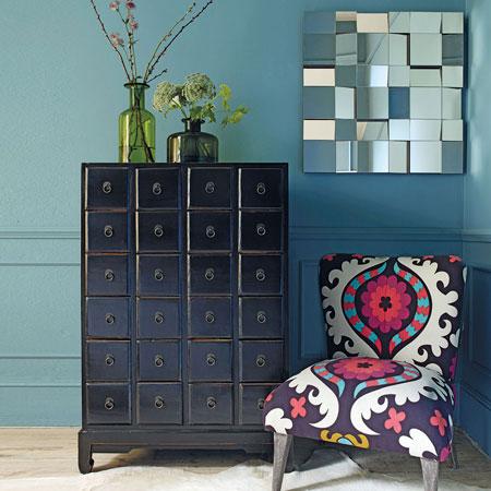 zigzag deco le style ethnique. Black Bedroom Furniture Sets. Home Design Ideas