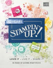 2018-19 Stampin Up! Annual Idea Book & Catalog