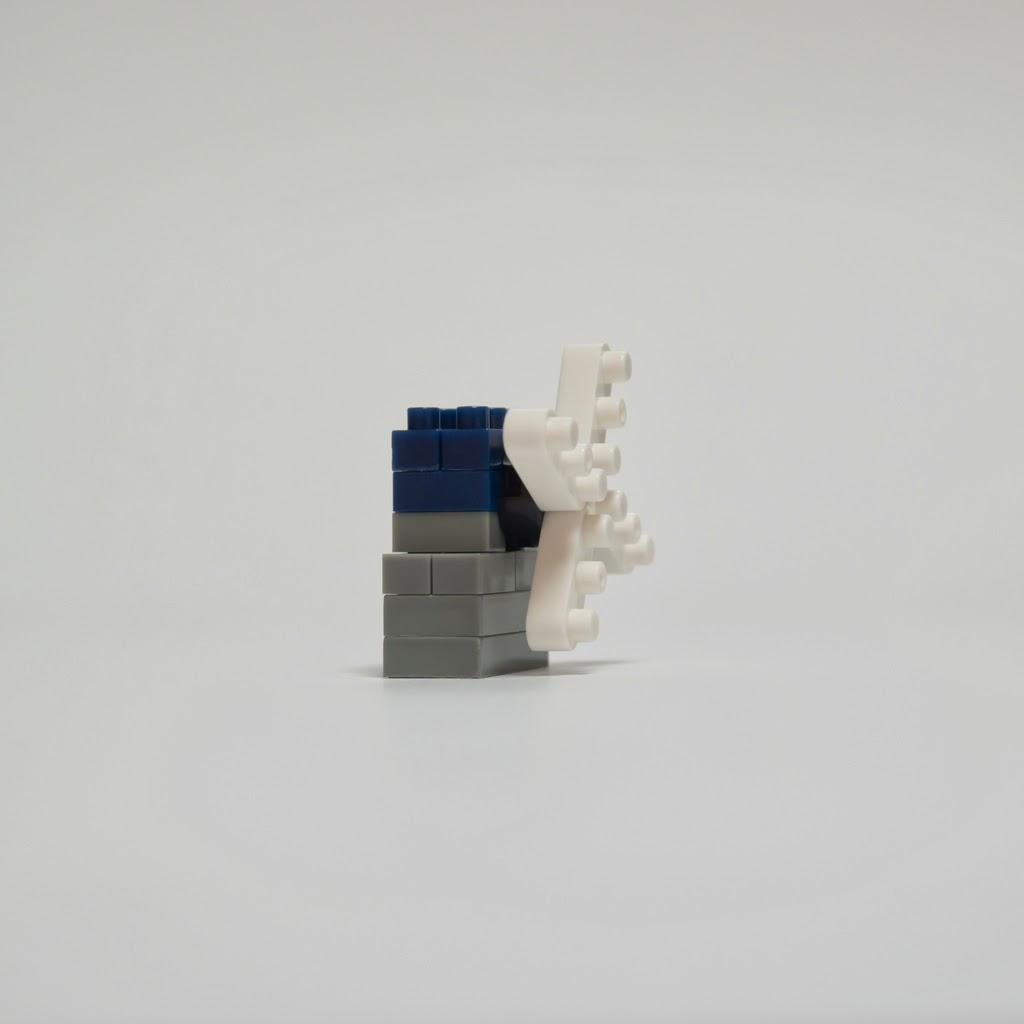ナノブロックで作ったキンデルダイク-エルスハウトの風車