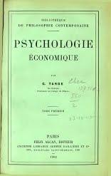 """Facsímil de """"Psychologie économique"""""""