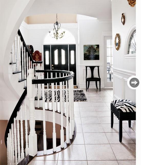 Hogares frescos esta hermosa casa cuenta con una nueva for Interiores de casas clasicas