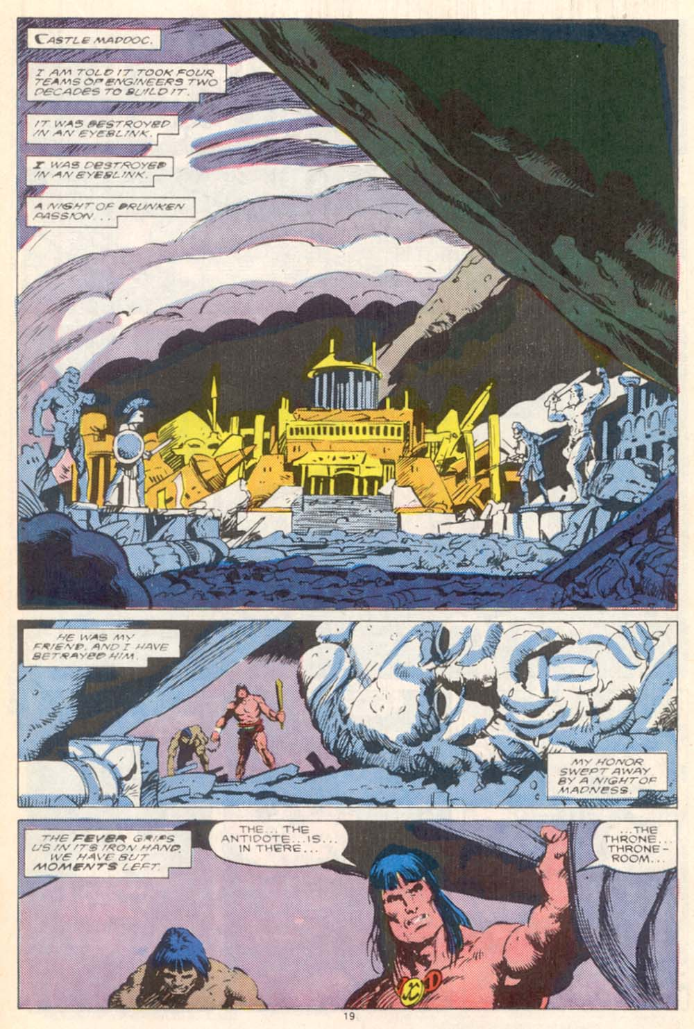 Conan the Barbarian (1970) Issue #208 #220 - English 16