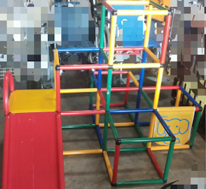 Baby Activity Gym n Slide set (used)