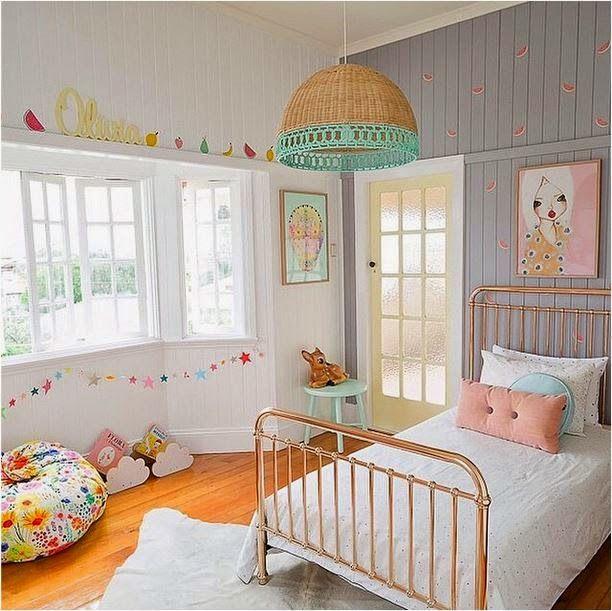 Inspira o vintage para o quarto dos seus pequenos papo for 8x8 room design