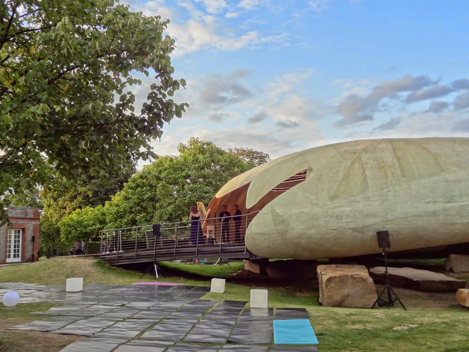 Serpentine Pavilion Hyde Park lululemon Yoga Event