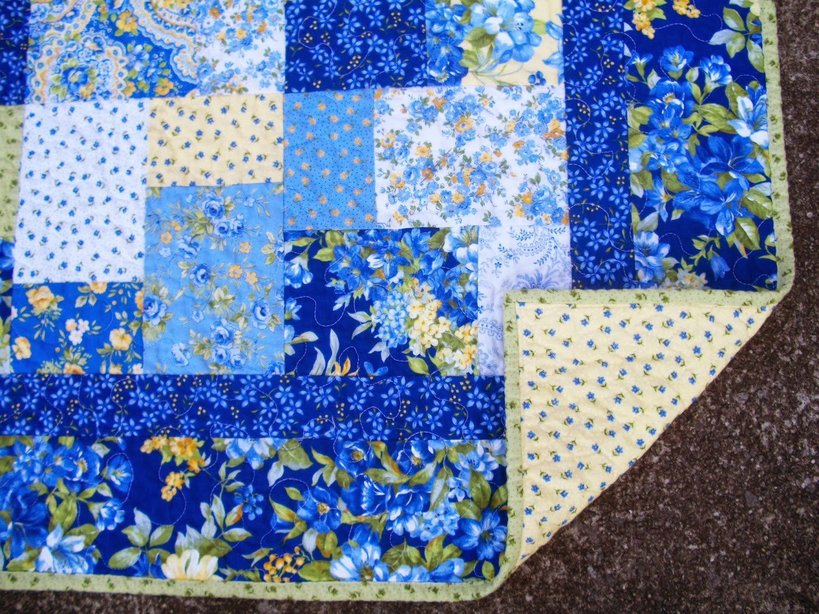 Sew Cook and Travel: Summer Breeze 2 Quilt Finished : quilt summer - Adamdwight.com