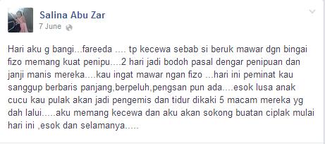 Peminat Tudung Fareeda Rasa Tertipu, Luah Kecewa Di Facebook