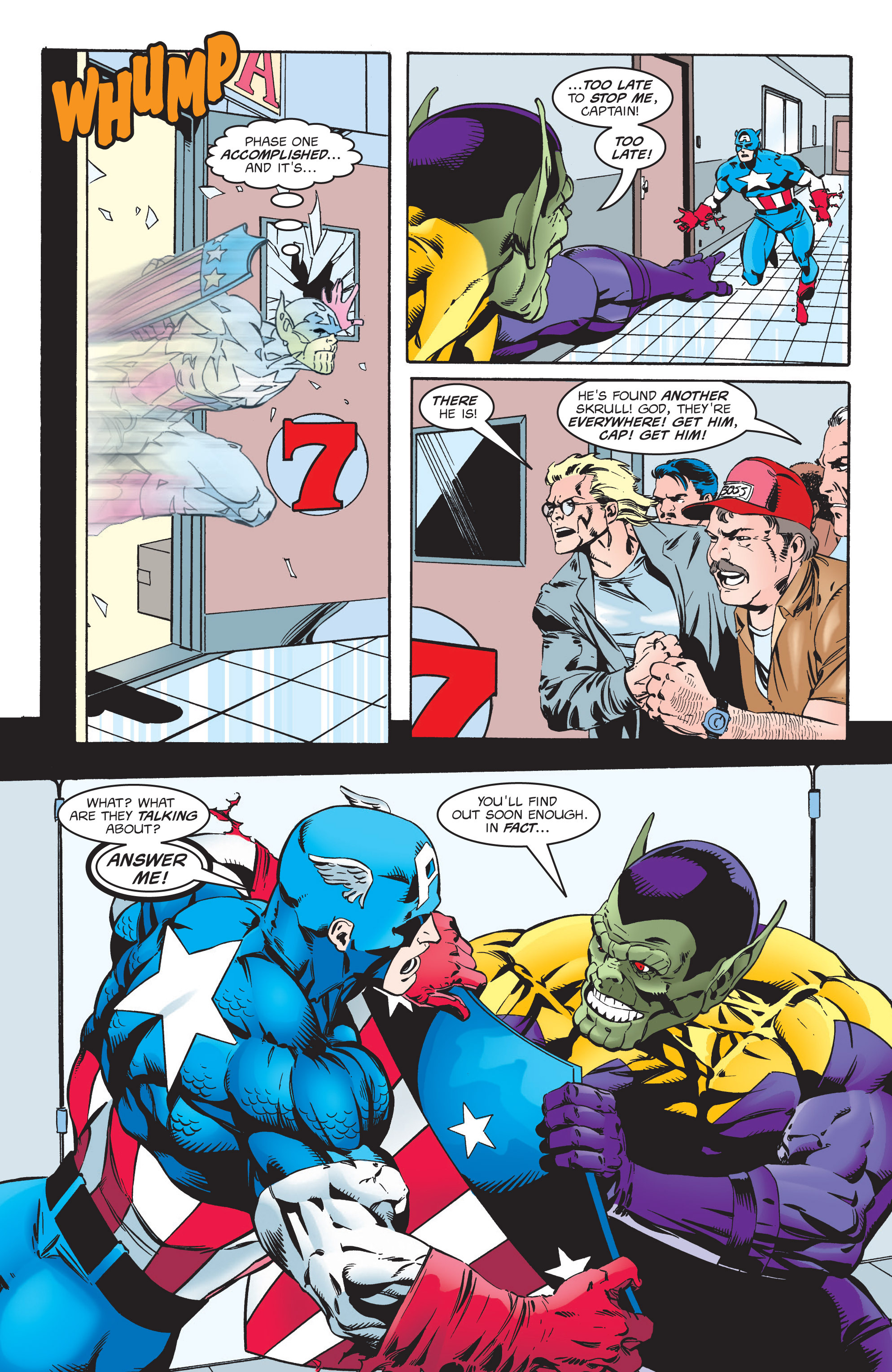 Captain America (1998) Issue #6 #9 - English 19