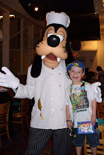 7th Birthday with Goofy at Chef Mickey's