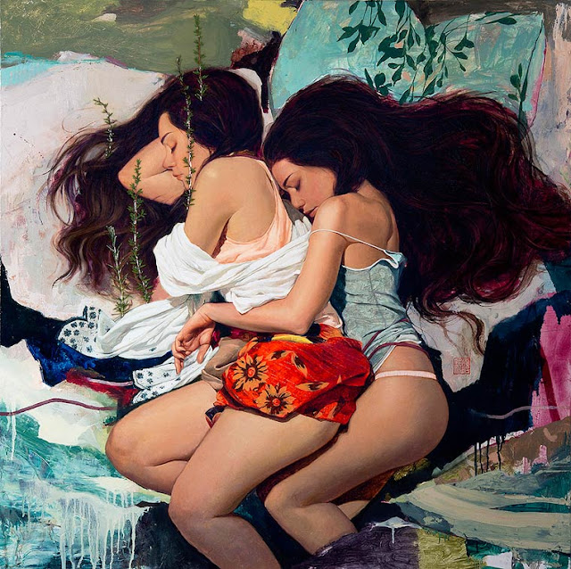 A arte sensual com inspiração na mulher coreana de Soey Milk
