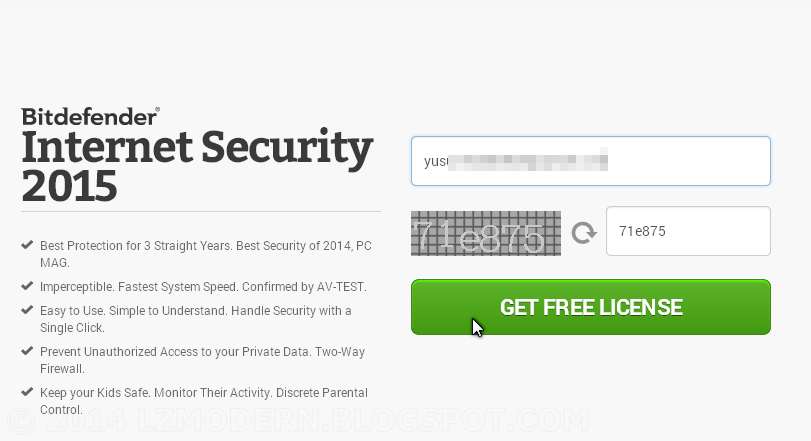 BitDefender Internet Security 2015 Full Version & Legal License