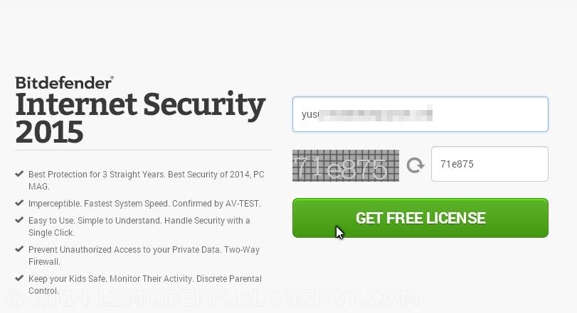 BitDefender Internet Security 2015 Full Version & Legal License