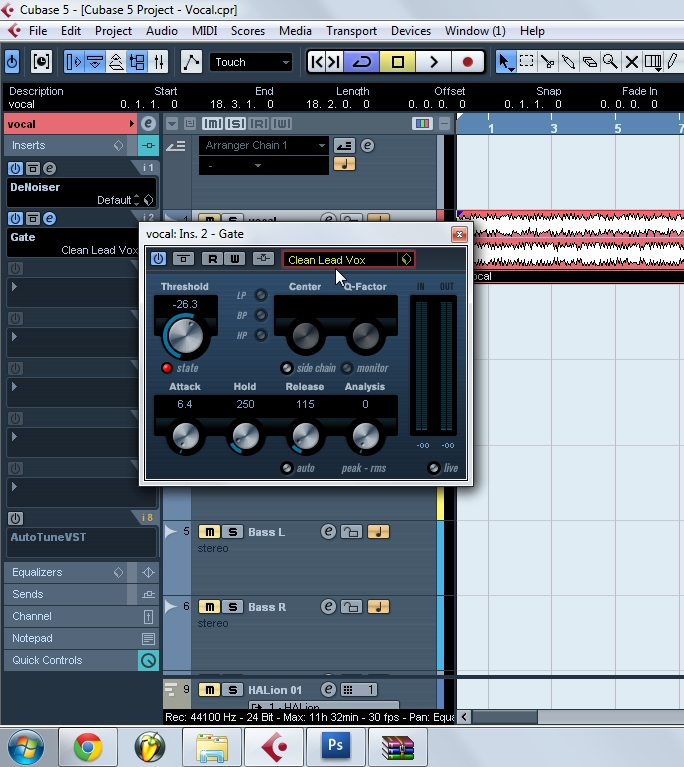 cubase 5 vocal mixing tutorial free studio tutorials build your rh makemystudio blogspot com Cakewalk Sonar Cubase VST 1 Screenshots