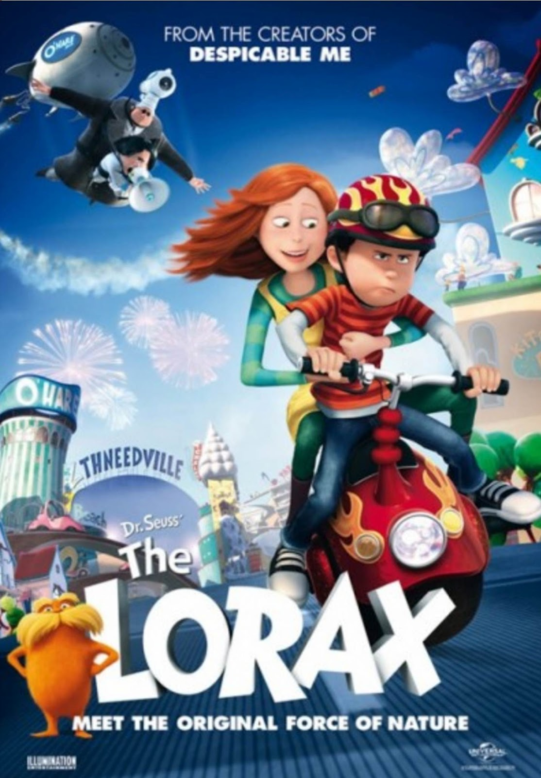 The Lorax 2012 DVD