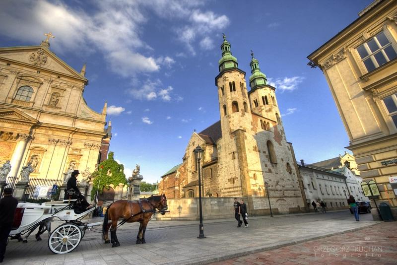 Kraków - kościół św Piotra i Pawła i Andrzeja