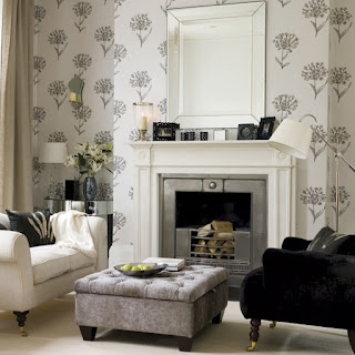 Ally interiors grey schemes for Monochromatic living room ideas