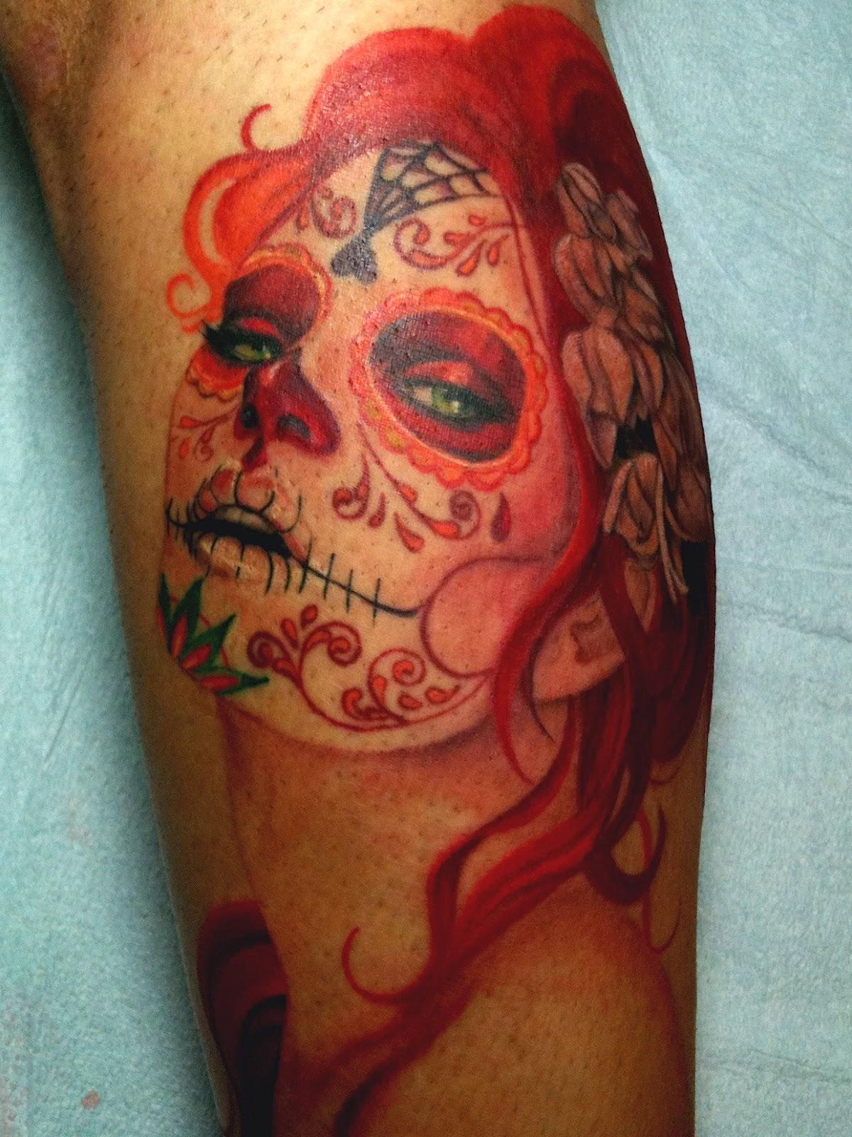 Fantastic Catrina Tattoos Design