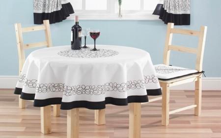 los manteles además de útiles a la hora de preparar la mesa para