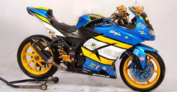 Modifikasi Knalpot Ninja 250 R 2014