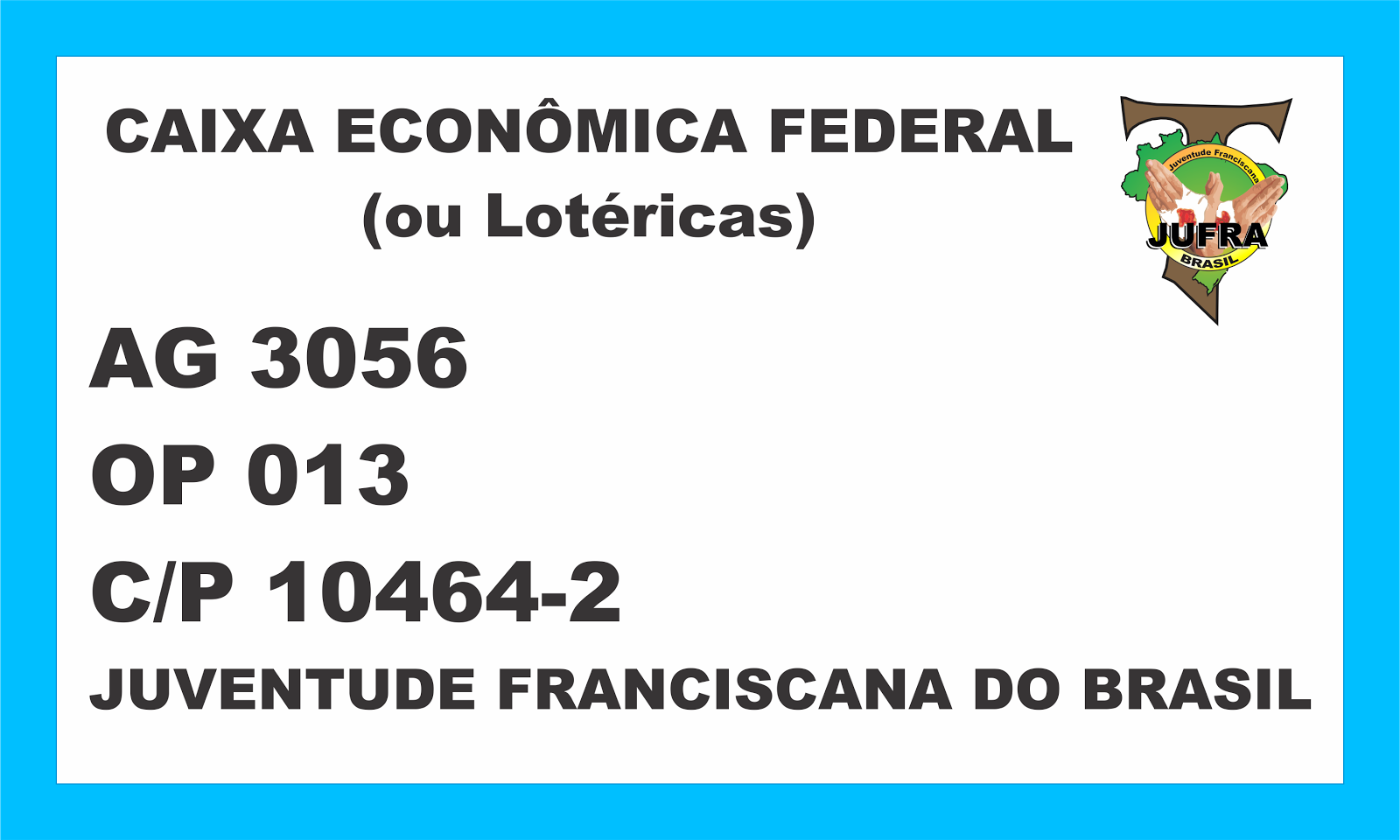 Ajude a Jufra do Brasil