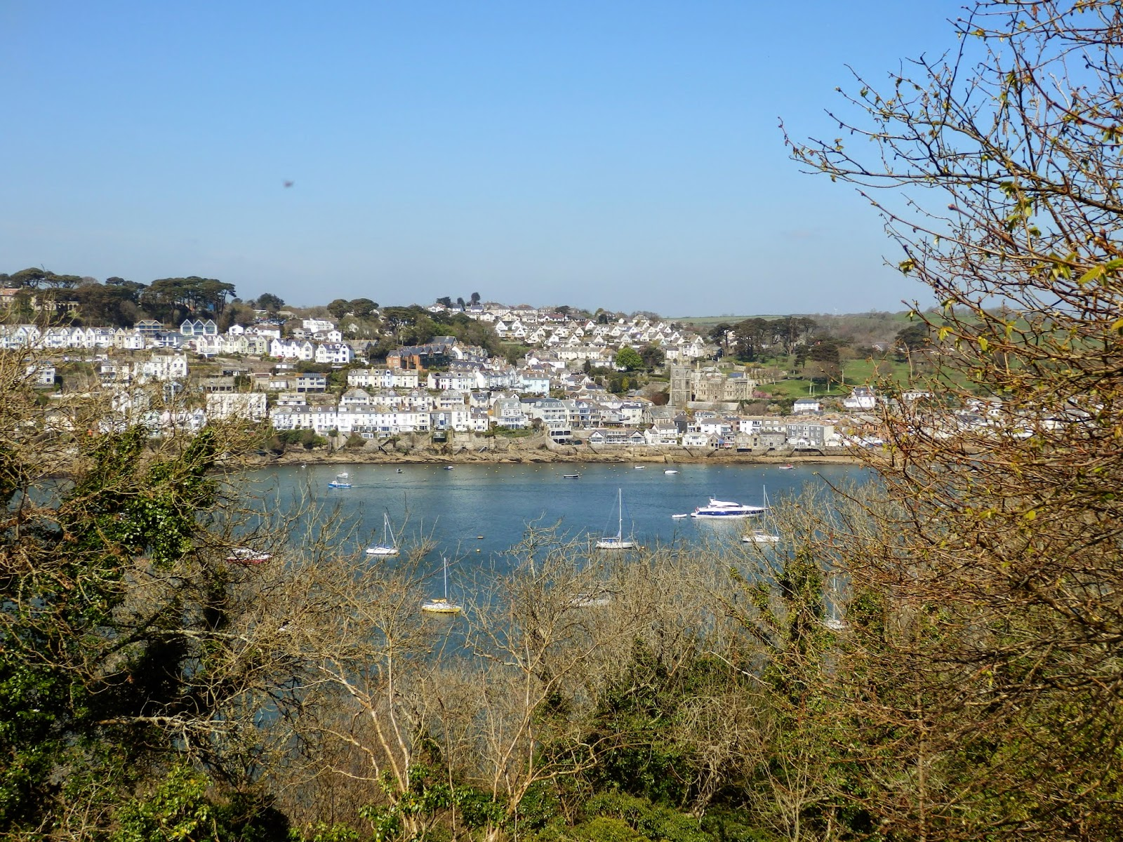 View of Fowey from Polruan
