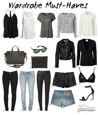 Wardrobe Must Haves from Alexa Dagmar