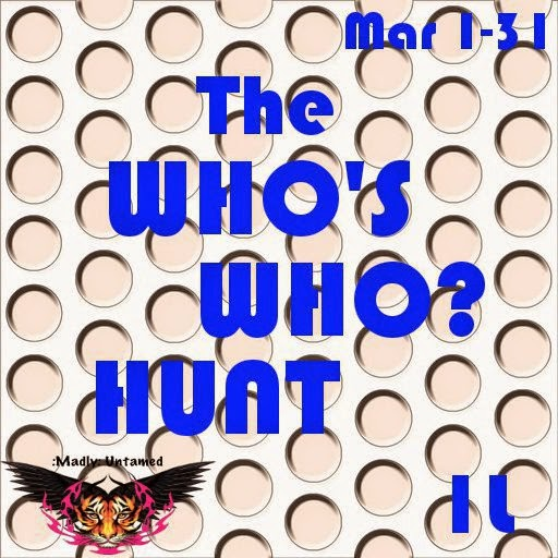 The Who's who Hunt March 1st