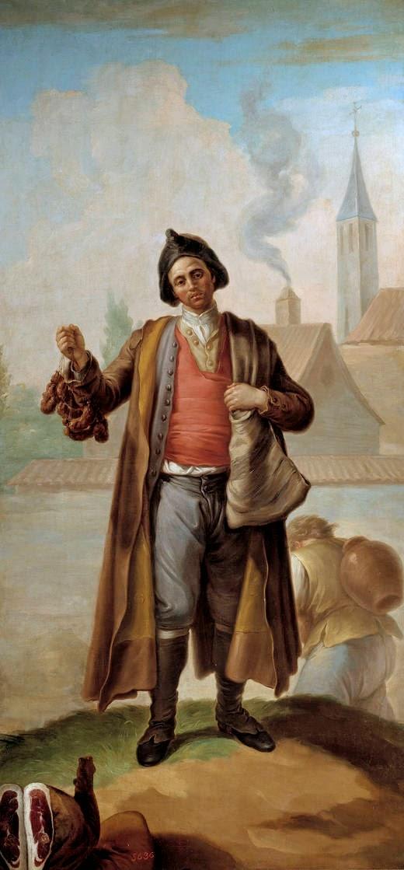 historia de cómo los chorizos llegaron las esferas de poder. De la mano del rey Carlos IV. Cuando el rey Carlos IV se encontraba de cacería por Segovia. Le entro hambre al monarca.
