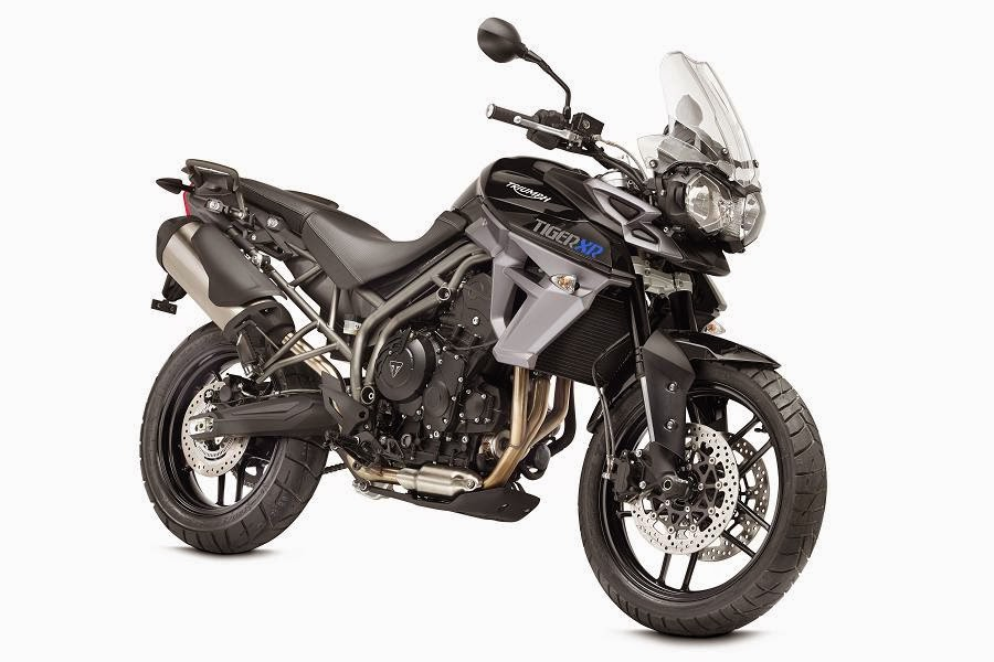 Triumph Tiger 800 XR (2015) Front Side