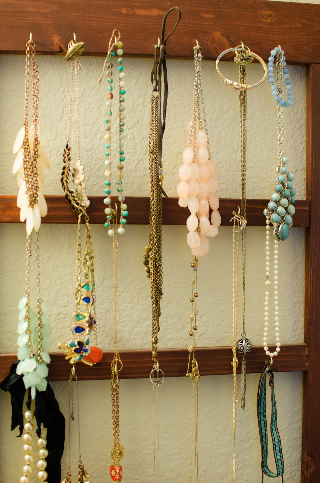 Nice Ideas For Hanging Jewelry On Wall Elaboration - Wall Art ...