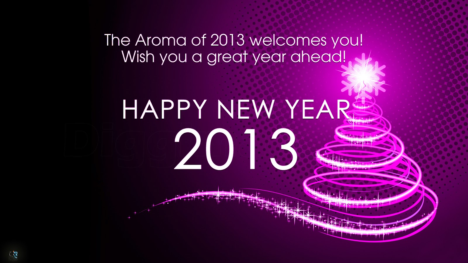 2013 welcomes you wishing you a great year ahead happy new year 2013