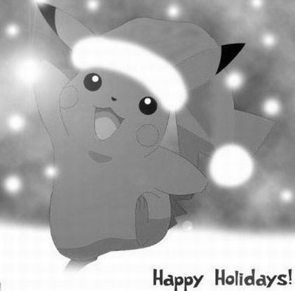 pokemon christmas coloring pages