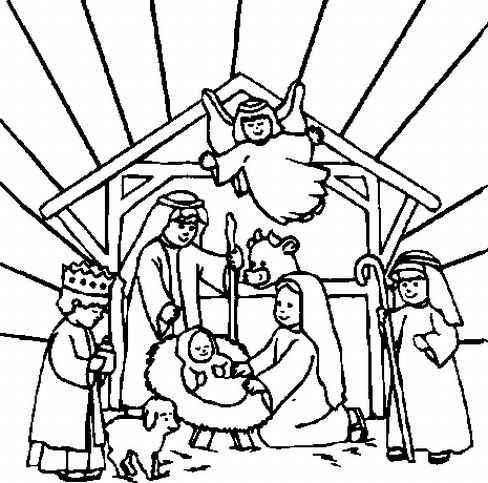 Christmas Coloring Pages Learn To