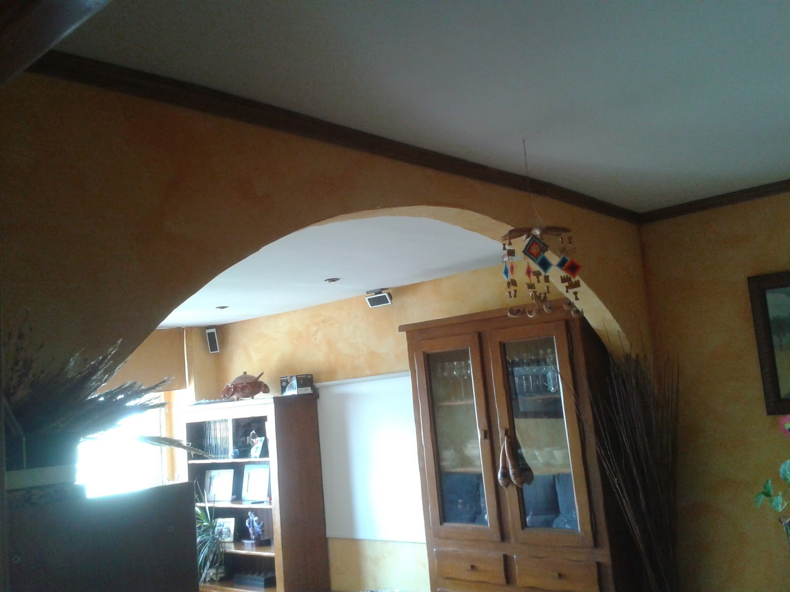 Reparaciones muy economicas para tu hogar arcos decorativos - Falso techo decorativo ...