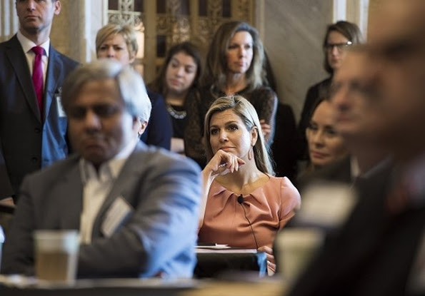 Queen Maxima Attended The Financial Inclusion Forum