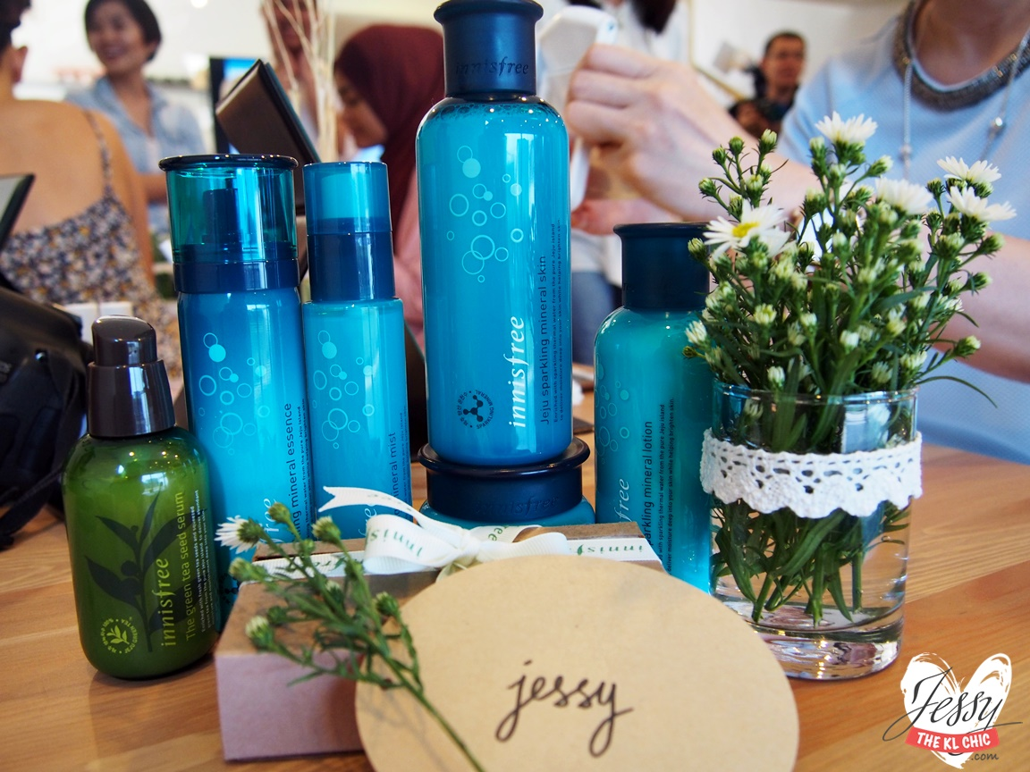 Event: Innisfree Beauty Picnic with Jeju Sparkling Mineral Line