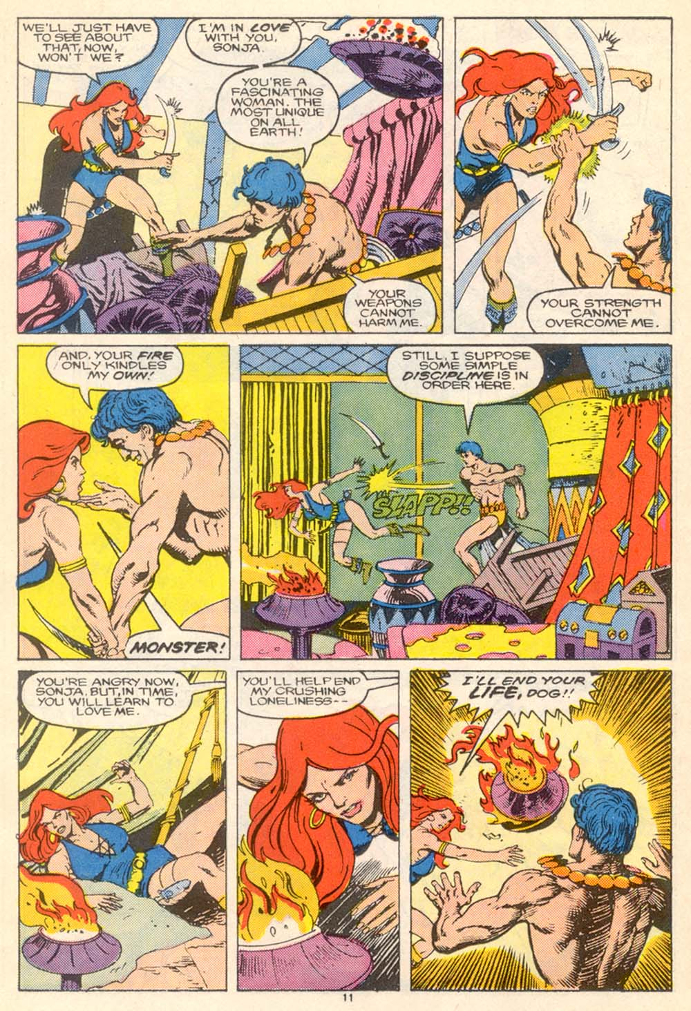 Conan the Barbarian (1970) Issue #205 #217 - English 12