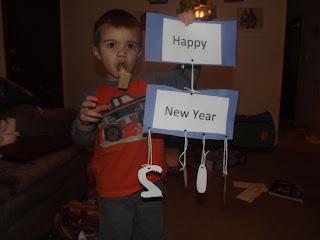 New Years DIY Mobile
