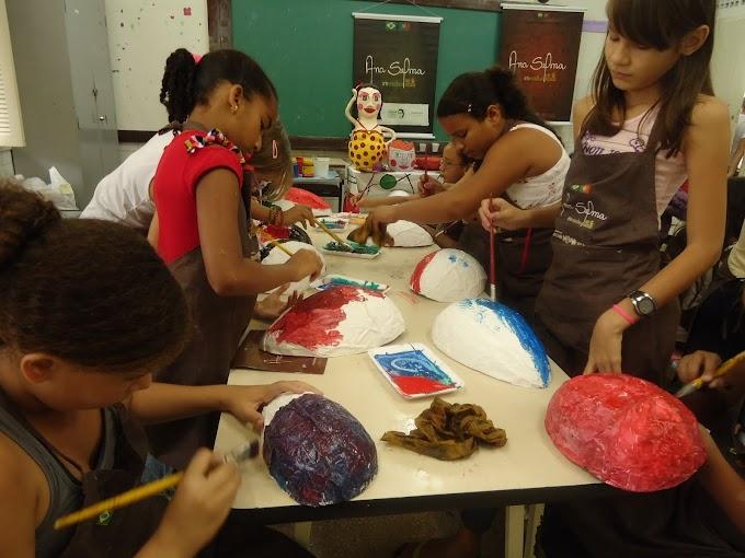 Projeto Ana Selma Arte Ecológica nas Escolas chega ao fim com a participação de mais de 500 alunos