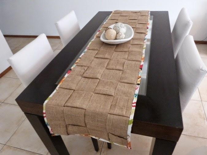 Un bellotoque caminos de mesa for Caminos para mesas
