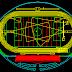 مشروع ملعب كرة صغير اوتوكاد dwg