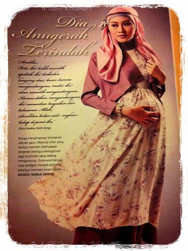 Gambar model baju ibu hamil trendy stylis
