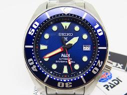 SEIKO DIVER SUMO PADI BLUE DIAL - SEIKO SBDC049 LIMITED EDITION 0579 / 1000 - AUTOMATIC 6R15