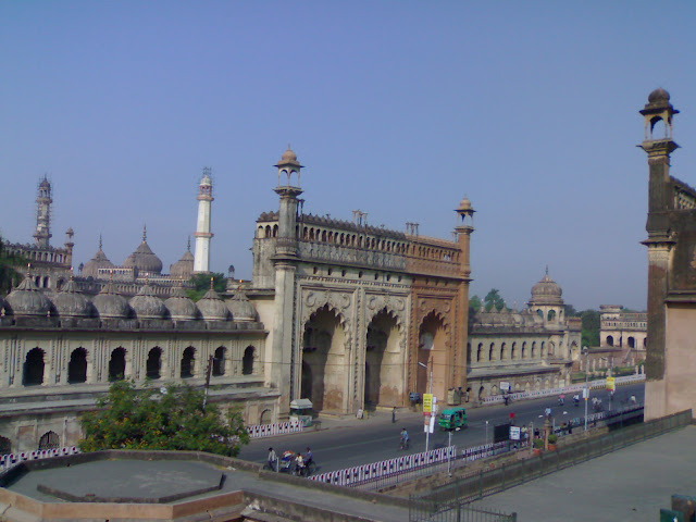 Bara Imambara - Main Entrance - Lucknow, India