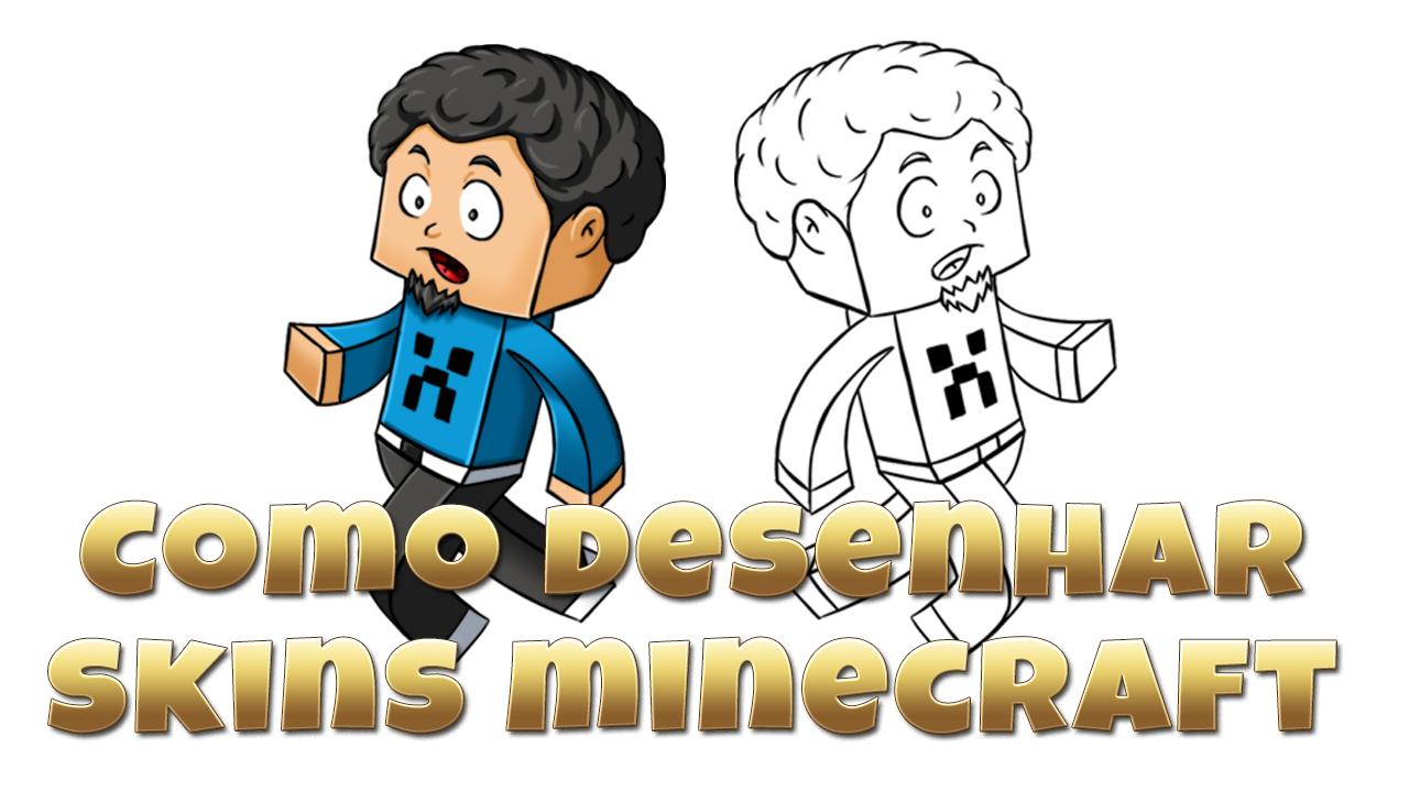 vcdesenhos skins de minecraft